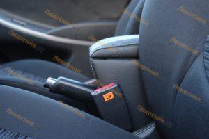 Подлокотник на Hyundai Solaris