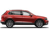 Накладки на пороги Volkswagen Tiguan