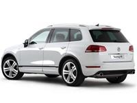 Накладки на пороги Volkswagen Touareg
