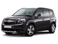 Накладки на пороги Chevrolet Orlando