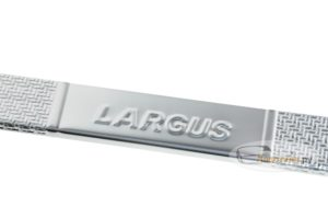 Надкладки на пороги Lada Largus Carbon