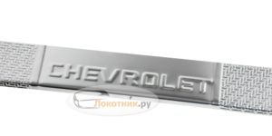 Накладки на пороги Aveo T300 карбоновые