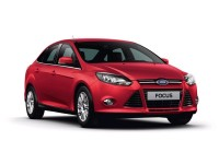 Накладки на пороги Ford Focus 3