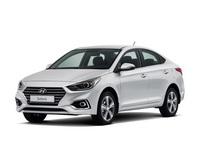 Накладки на пороги Hyundai Solaris 2 2017