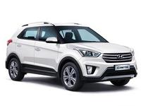 Накладки на пороги для Hyundai Creta
