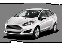Накладки на пороги Ford Fiesta