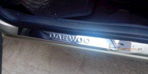 Накладки пороги Daewoo Nexia