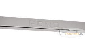 Накладки на пороги Форд Транзит