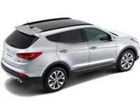 Накладки на пороги для Hyundai Santa Fe 3