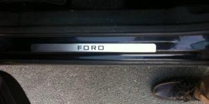 Накладки на пороги Форд Мондео 4