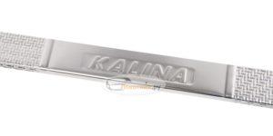Накладки на пороги Калина - карбон