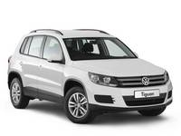 Накладка на задний бампер VW Tiguan 2011 - 2016
