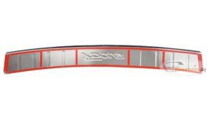 Накладка на задний бампер Фокус 3 Седан