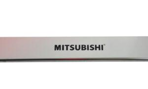 Накладки на пороги для Mitsubishi ASX