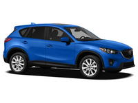 Накладка на задний бампер Mazda CX-5 I
