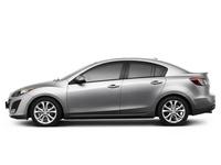 Накладки на пороги Mazda 3 BL (2009 - 2013)