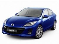 Накладки на пороги Mazda 3
