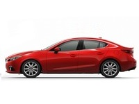 Накладки на пороги Mazda 3 BM