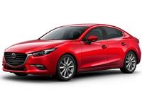 Накладка на задний бампер Mazda 3 BM (2016 - ...)
