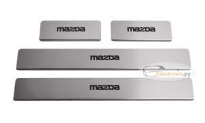 Накладки на пороги Mazda 6 GJ