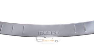 Накладка на задний бампер Mazda 6 GJ