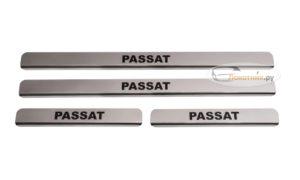 Накладки на пороги Пассат Б5, Б6, Б7