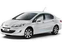 Накладки на пороги для Peugeot 408
