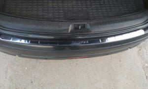 Накладка на задний бампер Nissan Qashqai J10