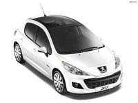 Накладки на пороги для Peugeot 207