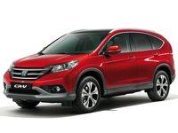 Накладки на пороги Honda CR-V 4