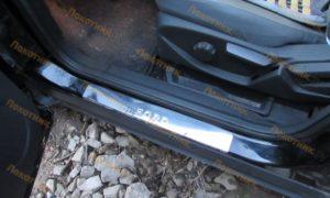 Накладки на пороги Ford Kuga 2