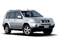 Накладки на пороги Nissan X-Trail T30
