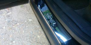 Накладки на пороги Opel Astra H
