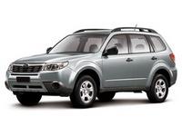 Накладка на задний бампер Subaru Forester SH
