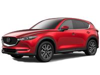 Дефлекторы капота для Mazda CX-5 II (2017 - ...)