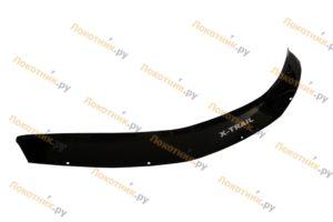 Дефлектор капота (мухобойка) Nissan X-Trail