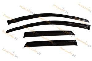 Дефлекторы на окна (ветровики) Рено Каптур