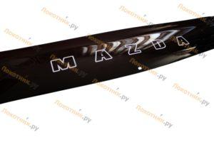 Короткий дефлектор капота (мухобойка) Mazda CX-5
