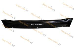 Дефлектор капота (мухобойка) Nissan X-Trail T31