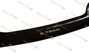 Длинный дефлектор капота (мухобойка) Nissan X-Trail T31