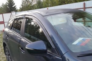 Дефлекторы на окна (ветровики) Mazda CX-5