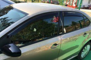 Дефлекторы на окна (ветровики) VW Polo Sedan