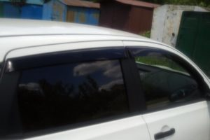 Дефлекторы на окна (ветровики) Ниссан Кашкай