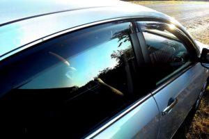 Дефлекторы на окна (ветровики) Nissan Almera
