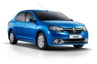 Дефлекторы капота для Renault Logan