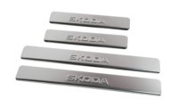 Накладки на пороги Skoda Octavia A7