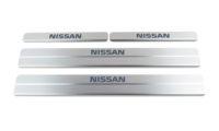 Накладки на пороги Nissan Almera