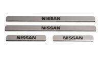 Накладки на пороги Nissan Teana J32