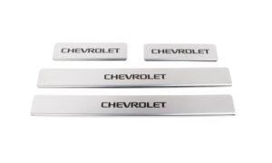 Накладки на пороги Chevrolet Epica