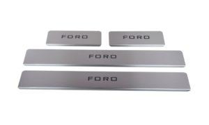 Накладки на пороги Ford EcoSport